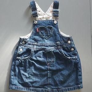 Levi's Overalls Dress / Skirt